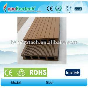Cedar/copper brown/wood/sandalwood/coffee/grey/dark grey wpc hollow floor board