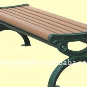 Tableros decking para banco/sillas en el mejor vendedor de wpc compuesto plástico de madera banco/sillas