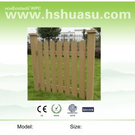 Popular and waterproof wpc fence