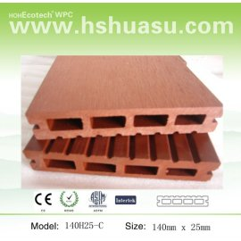 Advanced composite material WPC decking