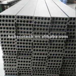 Decking de grande de taille de wpc du decking 200mm épaisseur de la largeur 50mm/bois de construction composés en plastique en bois de tuile de plate-forme de wpc panneau de plancher