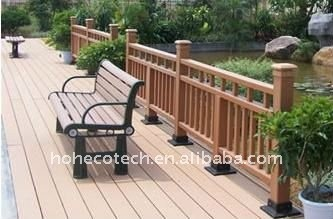 WPC wood plastic composite bench/chairs OUTdoor leisure chairs/bench