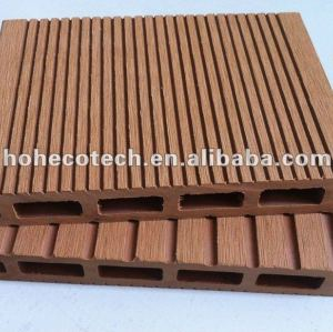 (NEW)wood plastic composite decking hollow type composite floor