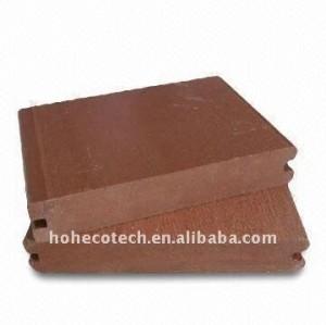 7colors pour choisir le decking de wpc/le plancher /Bamboo de plancher/panneau de plate-forme en bois