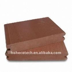 wpcのdeckingかフロアーリングの木製の/Bambooの床またはデッキボードを選ぶ7colors