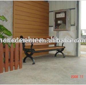 chaise composée en plastique en bois de loisirs de meubles de décoration de jardin