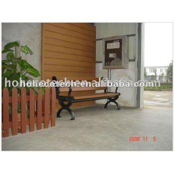 garden decoration furniture wood plastic composite leisure chair