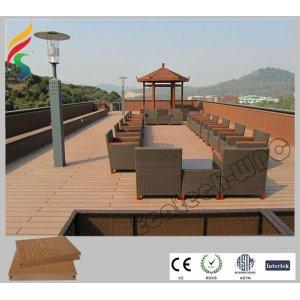 wood plastic composite -landscape platform wpc