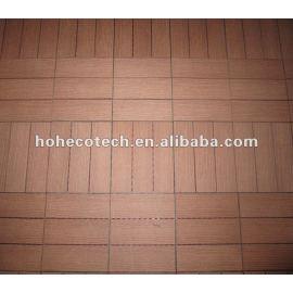 Indoor/outdoor waterproof flooring tiles wpc plastic composite flooring wpc tiles