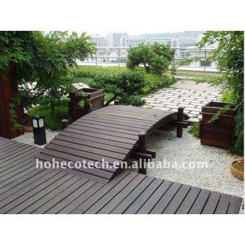 WPC Outside garden decking/bridge deck board