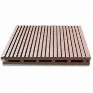 Le plancher composé /decking de wpc de Decking de décoration extérieure embarque le Decking extérieur en bois de panneau de plancher de /bamboo