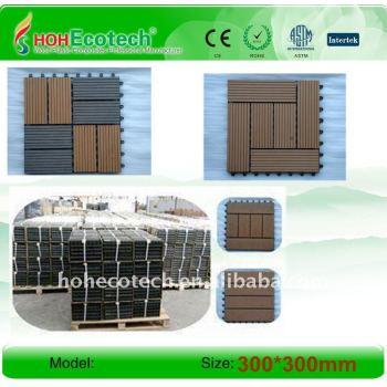 International quality Guarantee Non-Slip, Wear-Resistantsauna board WPC TILES Wood-Plastic Composites DIY tiles
