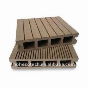 panneau composé en plastique en bois de wpc de /flooring de Decking (CE, ROHS, ASTM, ISO9001, ISO14001, Intertek)