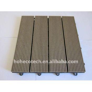 Wood Plastic Composites DIY tiles wpc Decking Building Materials of WPC Composite wood flooring