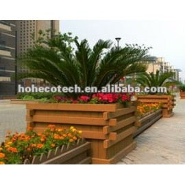 HUASU WPC leisure products, gazebo, wpc flower pot