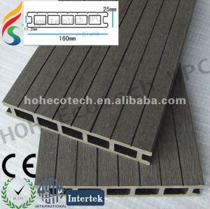 low price wood plastic outdoor flooring