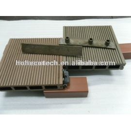 wood plastic composite decking end caps/decking boards