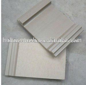 Huasu good design anti-UV water-proof wpc wall cladding (CE ROHS)