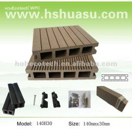 Villa/Hotel Hotel Furniture ! WPC decking wood plastic composite decking/flooring/composite decking/flooring-anti-fungus