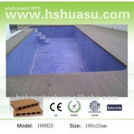 dimensional stability wood plastic composite deck