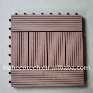 Le decking de Fashional DIY/les composés en plastique en bois DIY panneau de plancher couvre de tuiles le plancher en bois