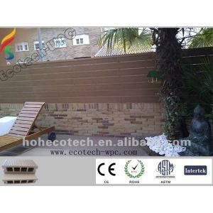 dimensional stability plastic wood deck