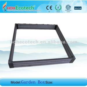 wpc garden box/ plastic wood garden box/ composite garden box