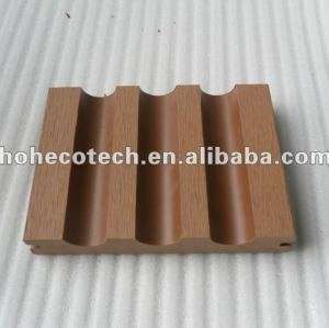 Plástico de madera wpc decking compuesto/suelo 140x23mm ( ce, rohs, astm, iso 9001, iso 14001, intertek ) madera wpc madera
