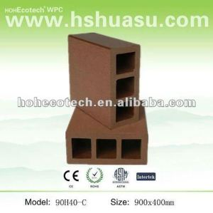 Huasu WPC 90mmx40mm de clôture