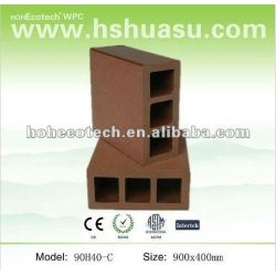 Huasu WPC柵で囲む90mmx40mm