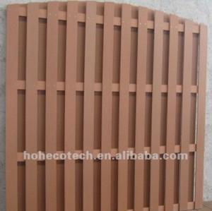 Barrière en bois de WPC