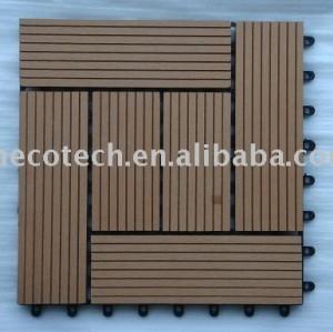 Panneau de sauna de HuaSu WPC (ISO9001, ISO14001, ROHS)
