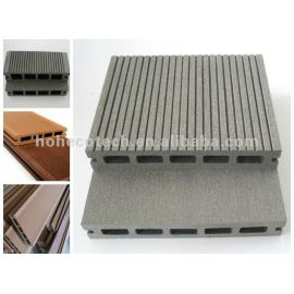 Durable wood and Plastic Composite Flooring/decking(waterproof/Wormproof/Anti-UV/Resistant to rot and mold )