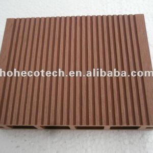 100% recycled wpc outdoor hollow decking/wood decking