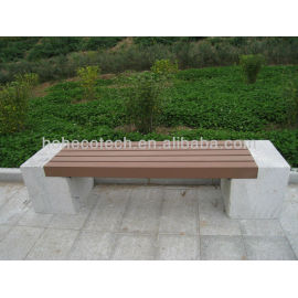 wood plastic composite bench plank