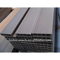 暗い灰色の空のライターの設計140H30 wpcのdecking板wpcの合成のdeckingのwpcのフロアーリングを選ぶ色