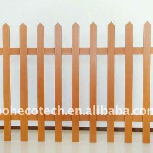 wpc clôturant la clôture composée en plastique du bois de jardin/balustrade de wpc