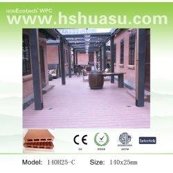 Waterprofの屋外の木製のプラスチックComposite/WPC Decking (HDPE)