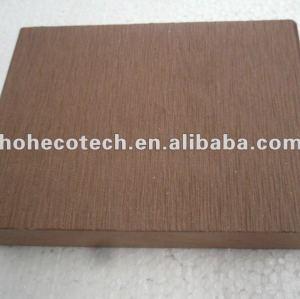 100% riciclato esterno wpc decking solido ( wpc pavimenti/wpc pannello murale/wpc prodotti di svago )
