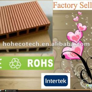 Promotion! Recycled anti-UV water-proof outdoor wpc decking (CE RoHS)