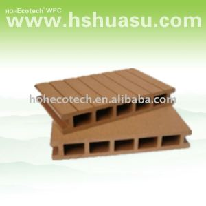 composite decking/HOHEcotech wpc decking hollow wood
