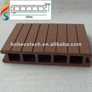 ( hotecotech ) hueco wpc decking compuesto de suelo del piso