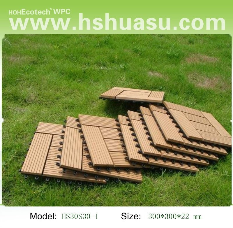 Wpc polywood decking china wpc decking flooring manufacturer huangshan huasu new material - Suitable materials for decking ...