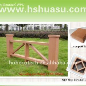 Huasu composto plástico de madeira esgrima ( wpc )