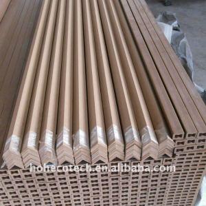 Les couvercles D'EMBOUT du decking de wpc embarquent le conseil de DECKING de panneau de plancher des composés WPC de Bois-Plastique
