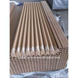 wpcのdeckingの端カバーは木プラスチック合成物WPCの床板のDECKING板に乗る
