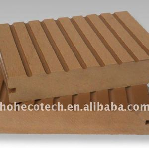 140x25mm groove placa decking composto