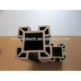 Waterproof outdoor wpc composite post,wood plastic plastic