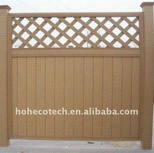 различные ограды на выбор! Wpc ограждения вуд пластиковые композитные сад ограждения/wpc перила деревянный забор