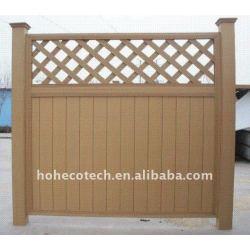 選ぶべきさまざまな塀! 木製のプラスチック合成の庭の囲うか、またはwpcの柵木塀を囲うwpc